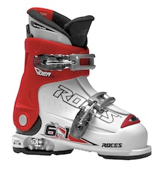 Der Skistiefel Ideas von Roces wachsen in der Höhe und Länge mit.  Foto (c) roces