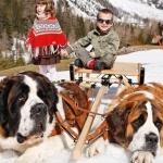 Bernhardiner Express für Kinder im Wallis
