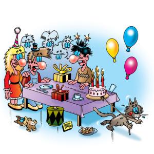 Geburtstagsspiele sind Euer Rettungsanker bei einem Kindergeburtstag.  Foto (c) Stefan Bayer  / pixelio.de