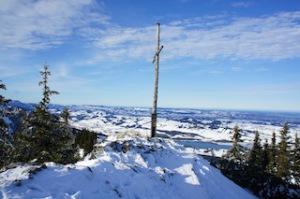 Salewa Schneeschuhe bringen Euch dorthin, wo nur wie wenigsten im Winter hinkommen.  Foto (c) Kinderoutdoor.de