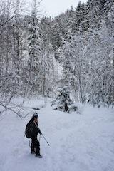 Für eine tolle Winterwanderung müsst Ihr nicht nach Alaska. Die Alpen tun es auch.  Foto (c) kinderoutdoor.de