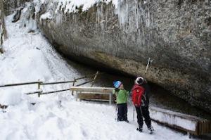 Winterwanderung: Ein Erlebnis der Extraklasse. Foto (c) kinderoutdoor.de