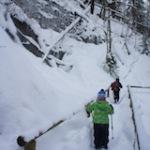 Geocaching im Winter: Drei mal Schatzsuche im Schnee mit der Familie