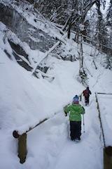 Sicherheitheit geht vor, auch beim Geocaching im Winter.  Foto (c) kinderoutdoor.de