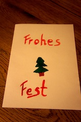 Weihnachtskarten ganz individuell.  Foto (c) kinderoutdoor.de