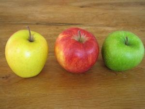 Auf den Apfel kommt es an. Nehmt für einen Bratapfel keine Billigheimer aus was-weiß-ich-woher. Die schmecken auch entsprechend neutral. foto (c) kinderoutdoor.de