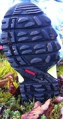 Ein wenig weicher könnte die Laufsohle vom Adidas Kids Terrex GTX sein.  Foto (c) Kinderoutdoor.de