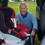 """Christian Danner: """"Oftmals herrscht Unsicherheit oder Unwissenheit bei Eltern über die Kindersitznormen"""""""