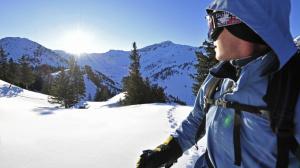 Schneeschuhwanderungen in Liechtenstein sind ein Erlebnis und führen bis 1.700 Meter hinauf.  Foto (c) liechtenstein marketing
