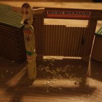 Fertig geschnitzt ist der Totempfahl.  Foto (c) Kinderoutdoor.de