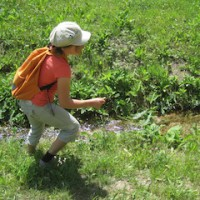 Bei der Rallye sind die Kinder mit viel Eifer dabei.  foto (c) kinderoutdoor.de