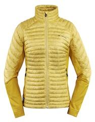 Die Schwaben mal wieder! Vaude stattet das Women Tacul PD Jacket mit Primaloft Performance Down Blend aus.  Foto (c) vaude