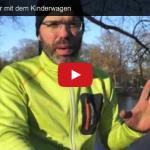 Bob Kinderwagen: Winterjoggen aber richtig