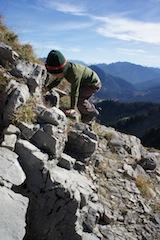 Unterwegs mit den Kindern in den Bergen. Das ist für viele der ideale Urlaub. Der DAV bietet die Aktion Bergferien für Familien an.  Foto (c) kinderoutdoor.de