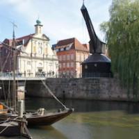 Das Ziel unserer Kanutour auf der Ilmenau: Die Salzstadt Lüneburg.   Foto (c) kinderoutdor.de