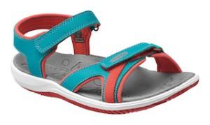 Eine coole Sandale für Kinder kommt von Keen: Harper heißt das Modell.  foto (c) keen