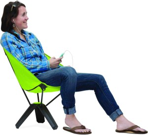 Der passt! Therm a Rest mit dem Treo Chair. Foto (c) Therm a Rest, Earl Harper