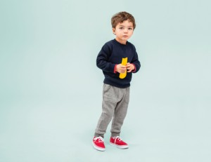 Im Gegensatz zu Kinderkleidung von Discountern ist die Wäsche von Uniqlo hochwertig verarbeitet.  Foto (c) uniqlo
