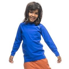 Ein Muss für alle Outdoor Kinder: Kids Liquid Skin Crew und gefertigt ist es in Europa. Foto (c) Houdini