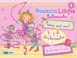 """Auch Kinder die noch nicht lesen können, kommen mit der App """"Prinzessin Lillifee Ballettzauber- Bildergeschichte, Tanzspiel, Stickerzauber"""" ganz alleine klar.  Foto (c) Blue Ocean AG"""