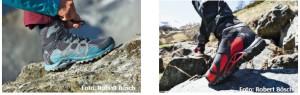 Schluss mit Fußschweiss! Mammut schickt die luftigen Comfort GTX® Surround® Schuhe los.  Foto (c) Robert Bösch / Mammut