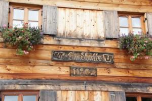 Das erste Nachtlager unserer Hüttenwanderung: Die Gundhütte! Foto (c) kinderoutdoor.de