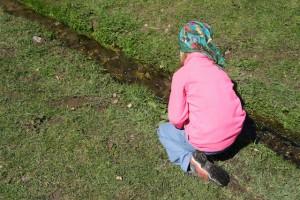 Wenn alle Brünnlein fließen....Schweiß fließt mit den Buff High UV Child Tüchern nicht, denn diese  sind mit Coolmax ausgerüstet.  Foto (c) kinderoutdoor.de