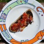 Bruschetta frisch vom Grill
