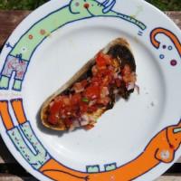 Bruschetta vom Grill: Eine heiße Sache!  Foto (c) Kinderoutdoor.de