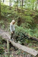 Ein Märchenwanderweg zieht die Kinder in seinen Bann!  Foto (c) kinderoutdoor.de