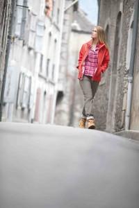 Schöffel Outdoor Jacken fürs Frühjahr: Marcella ist das lässige Frauenmodell und in vier Farben erhältlich.  Foto (c) Schöffel