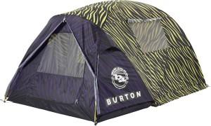 Ein neues Zelt der Boarder Marke Burton: Das After Party Tent Safari. Hier halfen die Zeltexperten von Big Agnes bei der Entwicklung mit. Allerdings mit 4,3 kg ist dieses Zelt eine Wuchtbrumme! Foto (c) Burton