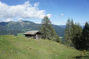 Der Mammut First Trion musste sich auf einer sechsstündigen Wanderung zum Gamskofel in Kärnten beweisen.  Foto (c) kinderoutdoor.de