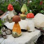 Schnitzen mit Kindern: Einzigartige Pilze