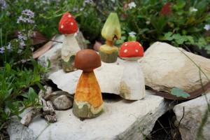 Fertig sind unsere Pilzköpfe! Foto (c) kinderoutdoor.de