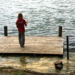 Angel basteln und im Trüben mit dem Magneten fischen