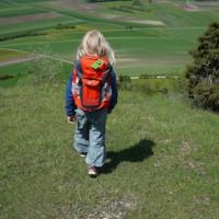 Auf zu neuen Abenteuern: Mit dem Kids Explorer von Jack Wolfskin macht den Kindern das Wandern Spaß.  foto (c) kinderoutdoor.de