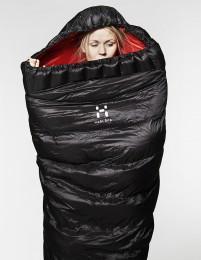 Gute Nacht! Haglöfs investierte kräftig in neue Schlafsäcke.  foto (c) haglöfs
