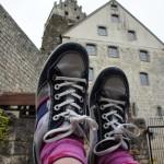 Bei soviel Geschichte legt man gerne mal die Füße hoch.   Foto (c) kinderoutdoor.de