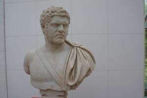 Sieht grantig aus und ist es auch gewesen: Der römische Kaiser Caracalla. Foto (c) Kinderoutdoor.de