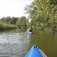 Paddeln in Deutschland ist auf vielen Flüssen möglich. Auch Einsteiger finden perfekte Touren.   Foto (c) kinderoutdoor.de