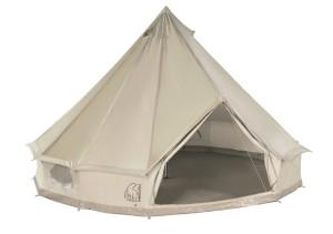 Zelten mit viel Platz! Das Asgard von Nordisk bietet viel Komfort und ist aus Baumwolle hergestellt. foto (c) nordisk