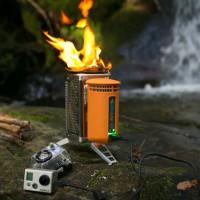 Ein ungewöhnlicher Outdoor Kocher kommt von BioLite: Er nutzt die älteste Energieform der Welt: Das Feuer umd damit auch Strom zu erzeugen.   Foto (c) BioLite