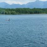 Stand up paddling mit dem Tomichi Signature von Sevylor im Selbstversuch