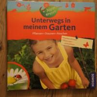 Buchbesprechung mit einem Titel aus dem Kosmos Verlag: Was ein Garten, selbst auf der Fensterbank, den Kindern zu bieten hat.   Foto (c) kinderoutdoor.de