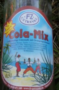 Limo oder Limbo? Keine Frage ist der Geschmack vom FZ Cola Mix: Sehr gut! Foto (c) kinderoutdoor.de
