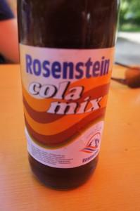 Überraschendes von der Schwäbischen Alb: Rosenstein Cola Mix. Foto (c) kinderoutdoor.de