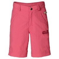 Auch in Mädchenfarben ist die Jack Wolfskin Kinderhose erhältlich.   foto (c) kinderoutdoor.de