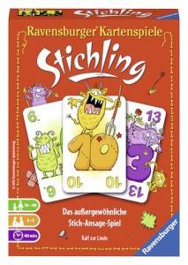 Spiele für die Autofahrt, wie Stichling von Ravensburger, gehören wie der Erste Hilfe Kasten in das Fahrzeug.  Foto (c) kinderoutdoor.de