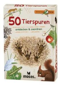 Auch Tierspuren bestimmen gehört zum Programm von der Expedition Natur.  Foto (c) moses-verlag.d